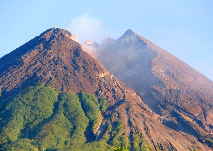 Adventure to Merapi Jeep Sunrise Borobudur Temple and White River Rafting to Upper Progo River
