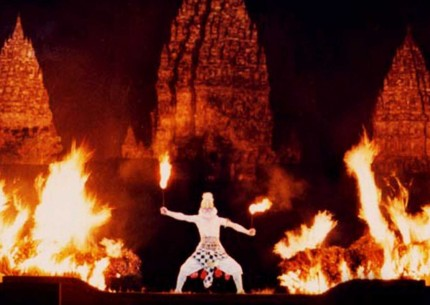 Ramayana Ballet Performance at Prambanan Temple