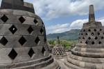 Borobudur then Prambanan