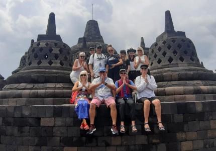 Shore Excursion to Borobudur Temple from Semarang Port